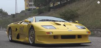 Lamborghini Vending Machine Delectable This Is The Lamborghini Diablo GT48 Stradale You Didn't Know Existed