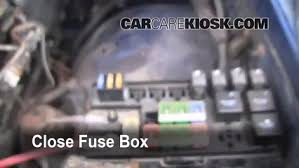 blown fuse check 1994 2001 dodge ram 1500 1997 dodge ram 1500 2001 Dodge Ram 1500 Fuse Box 6 replace cover secure the cover and test component 2001 dodge ram 1500 fuse box diagram