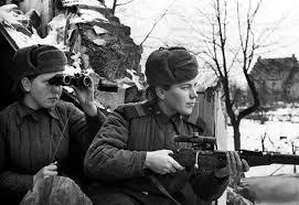 Of love battles russian women