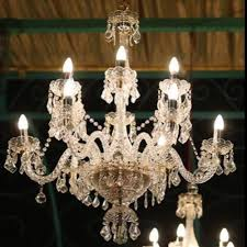 italian crystal chandelier light