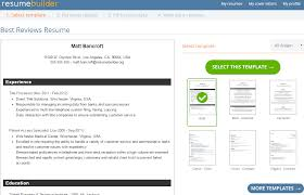 resumebuilder org reviews by experts users best reviews resumebuilder org resume templates