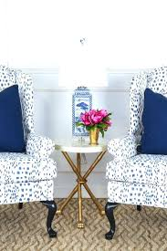 navy blue and white accent chair the impressive blue and white accent chair with blue accent
