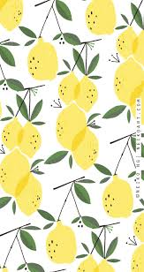 cute phone backgrounds with ilrated lemons