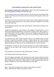Jimmy Sweeney Cover Letters Sweet Inspiration Jimmy Sweeney Cover Letter 24 Calamao Cv Resume 6