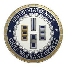 Cwo Navy Usn Cwo Chief Warrant Officer Plaque