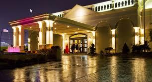 royal manor at night