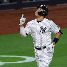 Aaron Judge is lighting it up for the ...