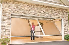 retractable garage door screensRetractable Screen Garage Door In On Insulated Garage Doors  Home