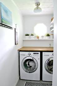 Simple Laundry Room Makeovers Laundry Room
