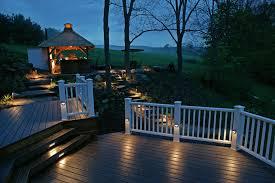 Outdoor Deck Lighting Ideas Great Lighting Idea For The Cottage Deck Outdoor Deck
