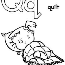 Small Picture Upper Case Letter Q Coloring Page Upper Case Letter Q Coloring