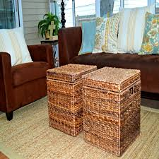 Coffee Tables With Basket Storage Bedroom Stunning Square Coffee Table Basket Storage Baskets
