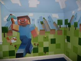 Minecraft Wallpaper For Bedrooms Minecraft Bedroom Wallpaper Best Images Collections Hd For
