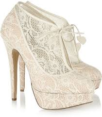 charlotte olympia minerva lace wedding bridal ankle boots 1202450 Cheap Wedding Shoe Boots charlotte olympia minerva lace wedding bridal ankle boots Silver Wedding Shoes