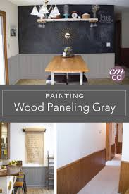 Kitchen Paneling Painting Wood Paneling