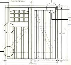 garage door plansGarage Door Plans  WoodArchivist