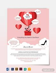 Valentines Flyers 60 Fabulous Psd Valentine Flyer Templates Word Publisher