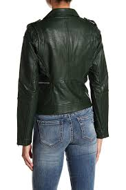 blank nyc multicolor easy rider faux leather moto jacket lyst