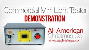 Mini Christmas Light Commercial Repair Box Demo