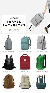 The 7 Best Travel Backpacks For Your Next Vacation