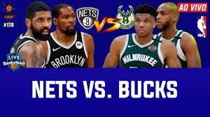 NBA AO VIVO: Brooklyn Nets x Milwaukee Bucks (Playoffs) - YouTube