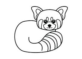 Small Picture red panda coloring page Kids Pinterest Daycare coloring