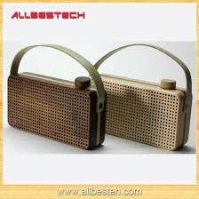 Classic <b>Real Wood</b> Portable <b>Bluetooth Speaker</b>