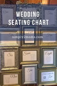 Diy Wedding Seating Chart Diy Seating Chart