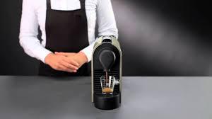 Nespresso U Machine Nespresso U Directions For Use Youtube