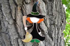 Outdoor & Gardening Home & Living <b>Witch</b> On A Broom Made From ...