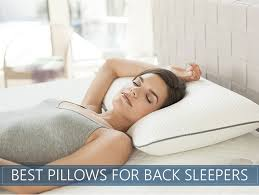 Best Rated Pillows for Back Sleepers