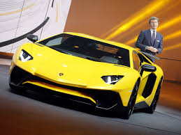 Lamborghini Ceo Supercars Aren T Easy Business Insider
