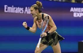 ATP: MARIA SAKKARI Number 7 In The World