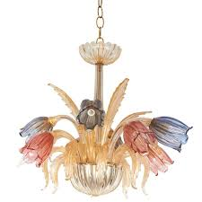 murano tulip chandelier at 1stdibs