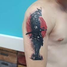 значение тату самурай эскизы и 115 тату на теле тату самурай