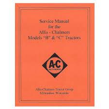 com allis chalmers manuals tools and videos