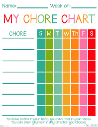 Free Printable Chore Chart For 4 Year Old Free Printable Chore Charts For Kids Viva Veltoro