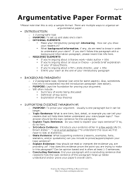 outline of argumentative essay sample google search my class argumentative writing