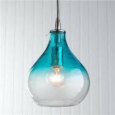 turquoise pendant lighting. New Turquoise Glass Pendant Lights Endearing Colored Latest . Lighting O