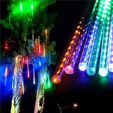 Đèn led sao băng đèn led giọt nước trang trí 8 ống | Tuấn Yến 196