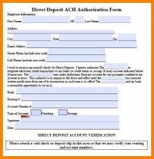 Direct Deposit Verification 5 Generic Direct Deposit Form Pdf Plastic Mouldings