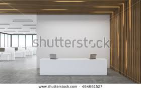 office reception images. Office Interior Of Accounting Company With Reception Desk And Large Room. Concept Modern Financial Images