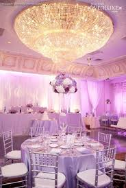 2014 Silver Lavender luxury wedding reception decorations