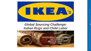 ikea s global sourcing challenge indian rugs and child labor by alexandra n s on prezi