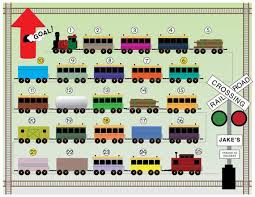 Printable Reward Chart For Kids Get On Board Tracks To Success