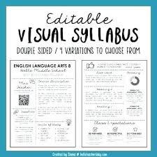 Middle School English Syllabus Template Digitalhustle Co