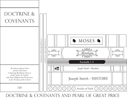 D C And Pearl Of Great Price Bookshelf The Gospel Home