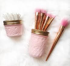 soft pink makeup brush holder makeup organiser baby pink etsy makeup trends makeup trends