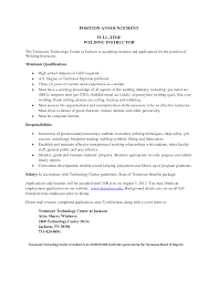 Welding Job Description Resume Ideas Of Pipe Welder Cover Letter Resume Publix Sample Shalomhouseus 12