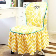 are you looking for a sewing project that will add a cly touch to your sewing room or home office try sewing this elegant office diy chair slipcover